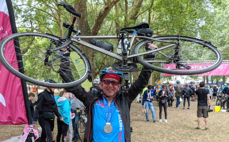 lands end to john o'groats finisher
