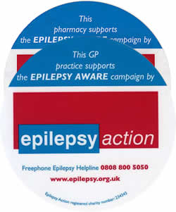 Epilepsy Awareness stickers