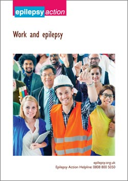 Work and epilepsy cover